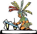 The Maya Scribe