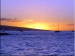 Sunset Lahaina Bay, Maui