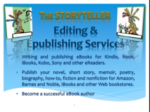 Editing & EPub Service Image